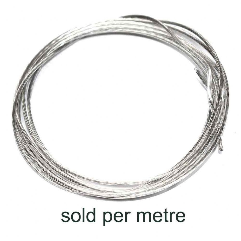 Plastic Coated Stainless Steel Picture Hanging Wire (#6/24kg) - by metre